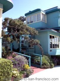 ocean park motel, san francisco, entrance