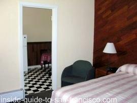 ocean park motel, san francisco, rooms