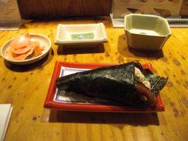 san francisco sushi, isobune, dragon roll