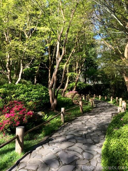 stone path, japnese tea garden san francisco
