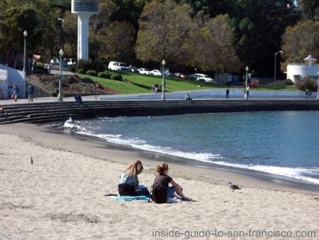 san francisco beaches, aquatic park