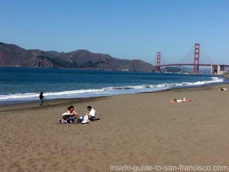 san francisco beaches, baker beach