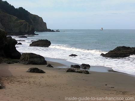 san francisco beaches, china beach