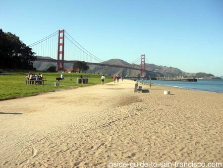 san francisco beaches, chrissy field