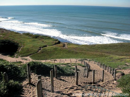 fort funston, san francisco, beach view