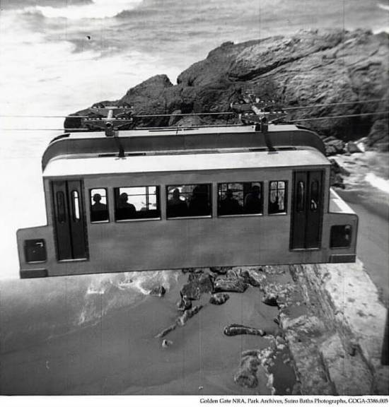 Sky Tram, Cliff House to Point Lobos