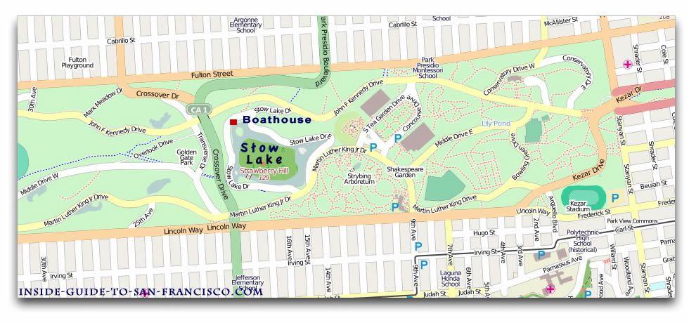 stow lake map