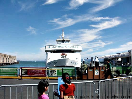 Alcatraz Island Tours Pier
