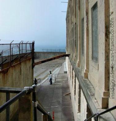 entrance to alcatraz exercise yard