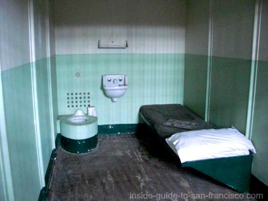 solitary cell, alcatraz prison