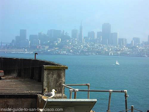 san francisco, from alcatraz island