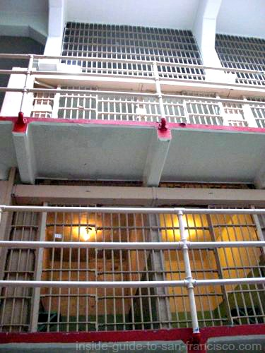 alcatraz prison cell tiers