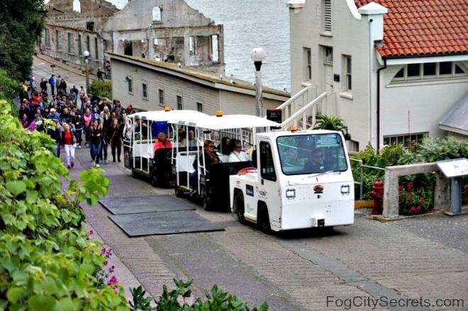 SEAT tram, Alcatraz disabled transportation