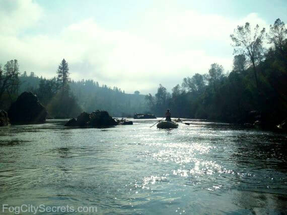 south fork, american river, calm stretch