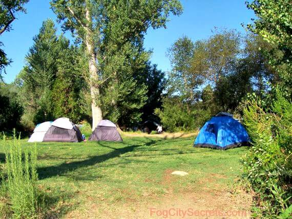 lotus campground, south fork, american river