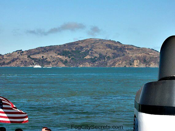 angel island view from ferry