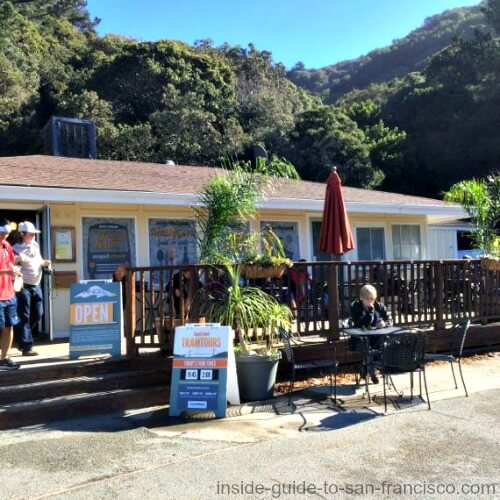 angel island san francisco, cove cafe