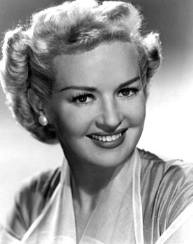 betty grable, 1951