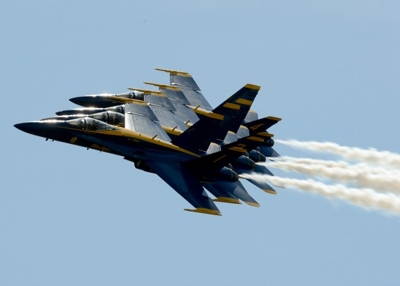 blue angels, in formation
