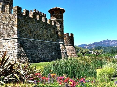 castello di amorosa, napa valley winery