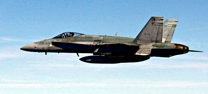 CF-18 Hornet, Canadian fighter plane