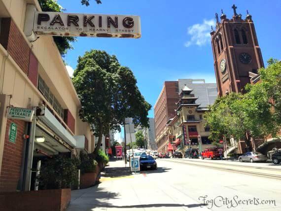 st marys square parking garage entrance