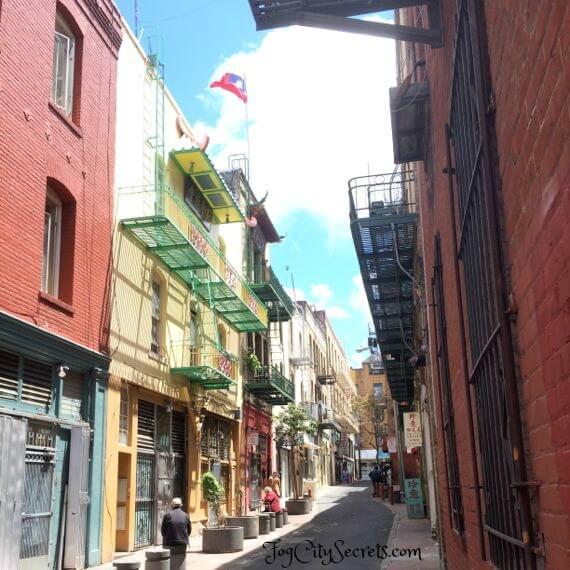 spofford alley, san francisco chinatown