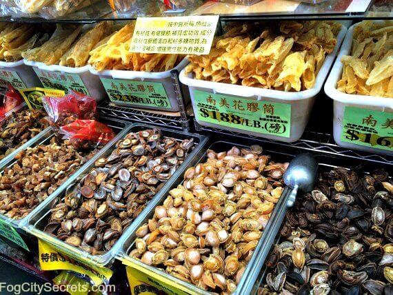 seafood, chinatown market, stockton street, san francisco chinatown