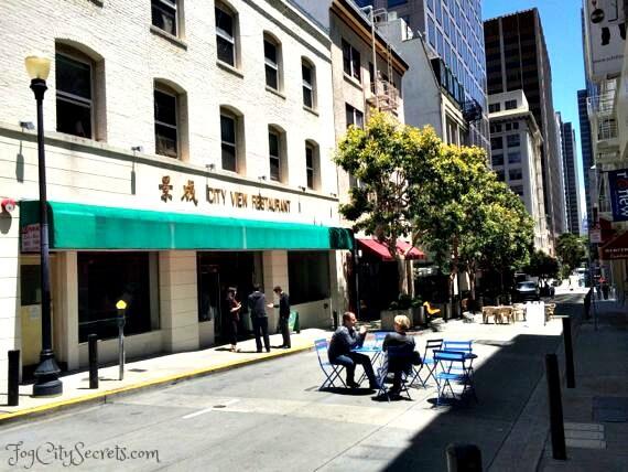city view restaurant, san francisco