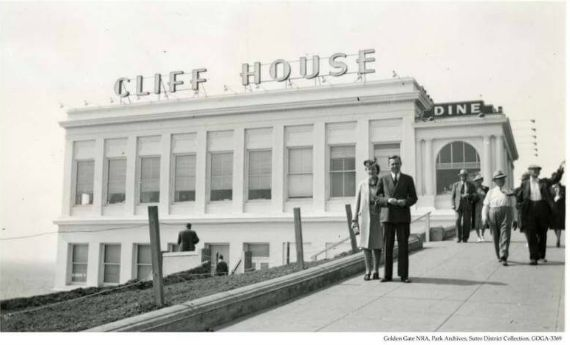 cliff house 1938, san francisco