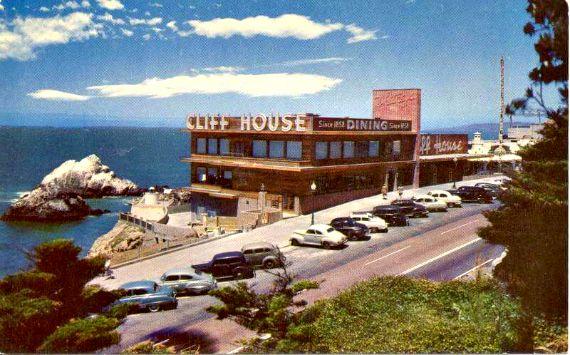 cliff house 1950, san francico
