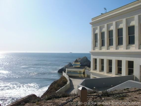 cliff house, camera obscura, san francisco,