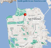 conservatory of flowers sf map thumbnail