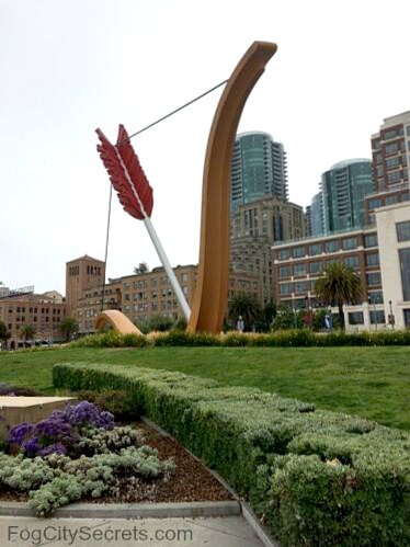 cupids span, san francisco embarcadero sculpture