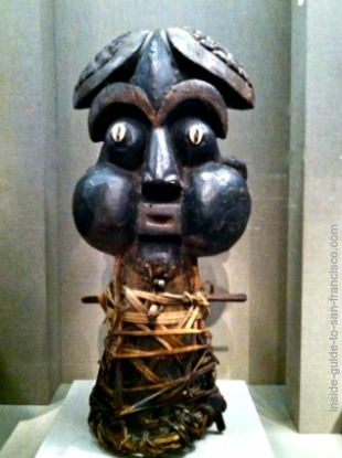 cameroon mask, de young museum san francisco