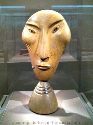 urguk spirit helper, inuit, de young museum san francisco