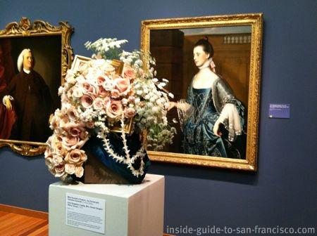 de young museum san francisco, bouquet to art exhibit