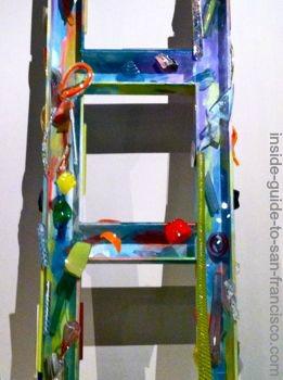 de young museum san francisco, seattle ladder