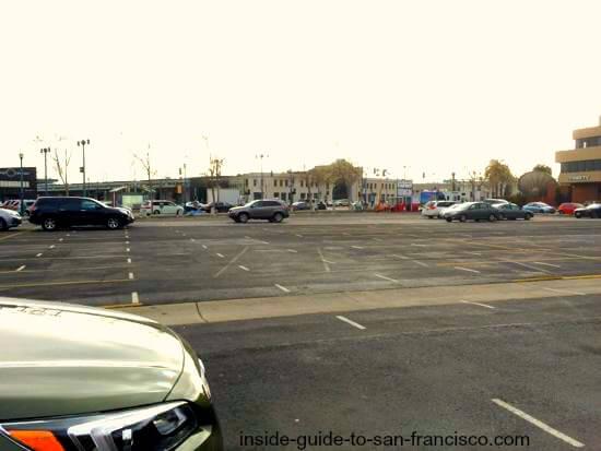 embarcadero parking lot at pier 15