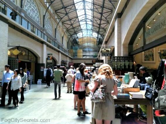 San Francisco Food Market Pier
