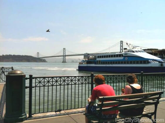 ferry building san francisco embarcadero view