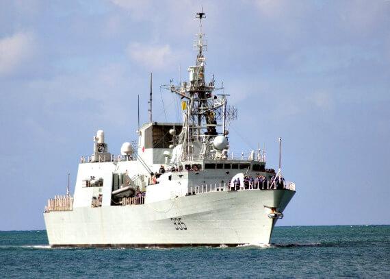 canadian navy frigate, hmcs calgary