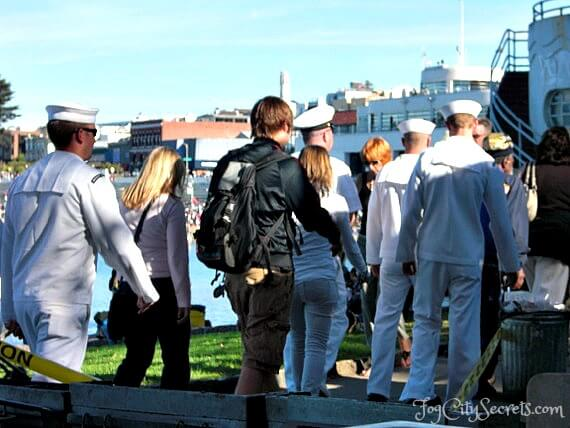 San Francisco Fleet Week, American sailors