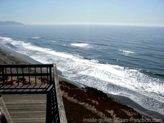 viewing platform at fort funston