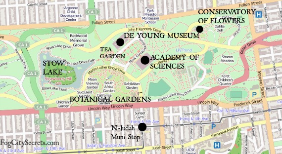 Japanese Tea Garden San Francisco – Map Of San Francisco Tourist Attractions