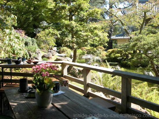 japanese tea garden, san francisco, tea house patio