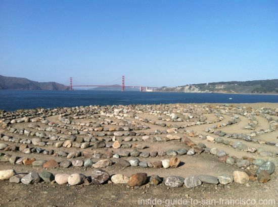the labyrinth, lands end point, san francisco