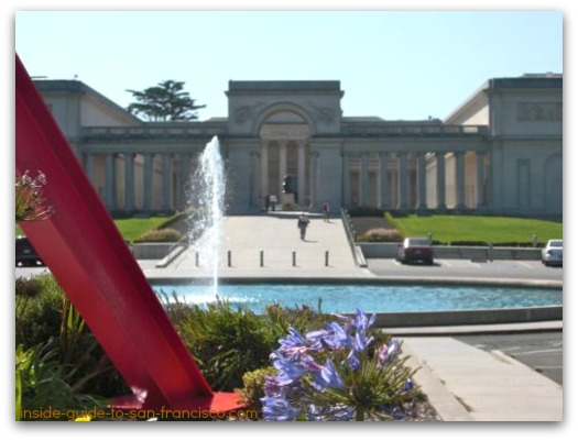 legion of honor san francisco, building