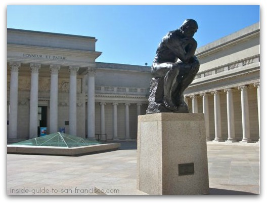 legion of honor san francisco, the thinker, rodin