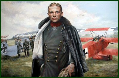 manfred von richthofen, the red baron, flying circus